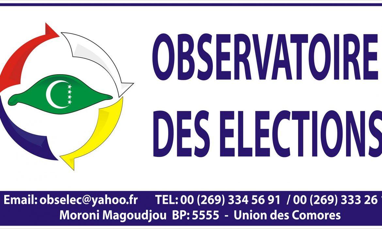 Observatoire national des élections : La plupart des bureaux ont ouvert à l'heure